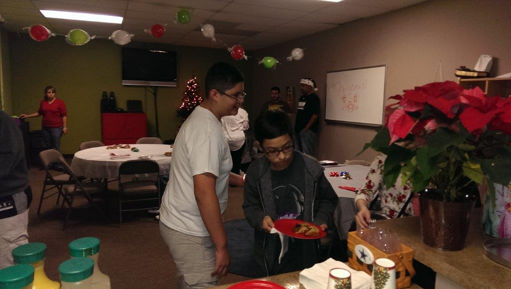 Students Christmas Party Cbc Northwest